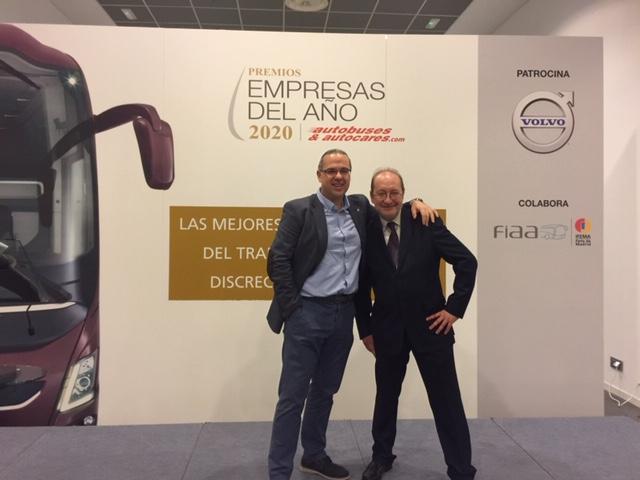 Grupo ARTE presente en el certamen anual del premio Las Empresas del Año de la revista Autobuses&Autocares