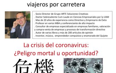 Carta al sector del Transporte de Viajeros por Carretera / La crisis del coronavirus: ¿Peligro mortal u oportunidad? Nuestro Plan RADAR
