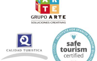 Grupo ARTE se homologa para ayudar en la implantación y certificación del sello oficial SAFE TOURISM