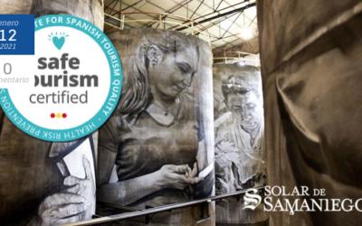 Grupo ARTE ayuda a la bodega Solar de Samaniego a obtener el certificado Safe Tourism Certified