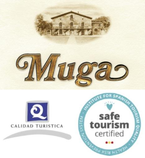 Grupo ARTE ayuda a Bodegas MUGA a obtener el certificado Safe Tourism Certified